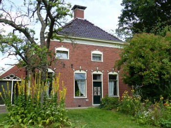 Buitenschilderwerk, Annerweg 4 in Anloo